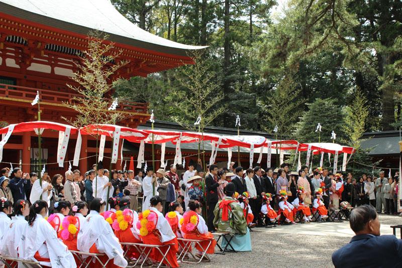 香取神宮の御田植祭
