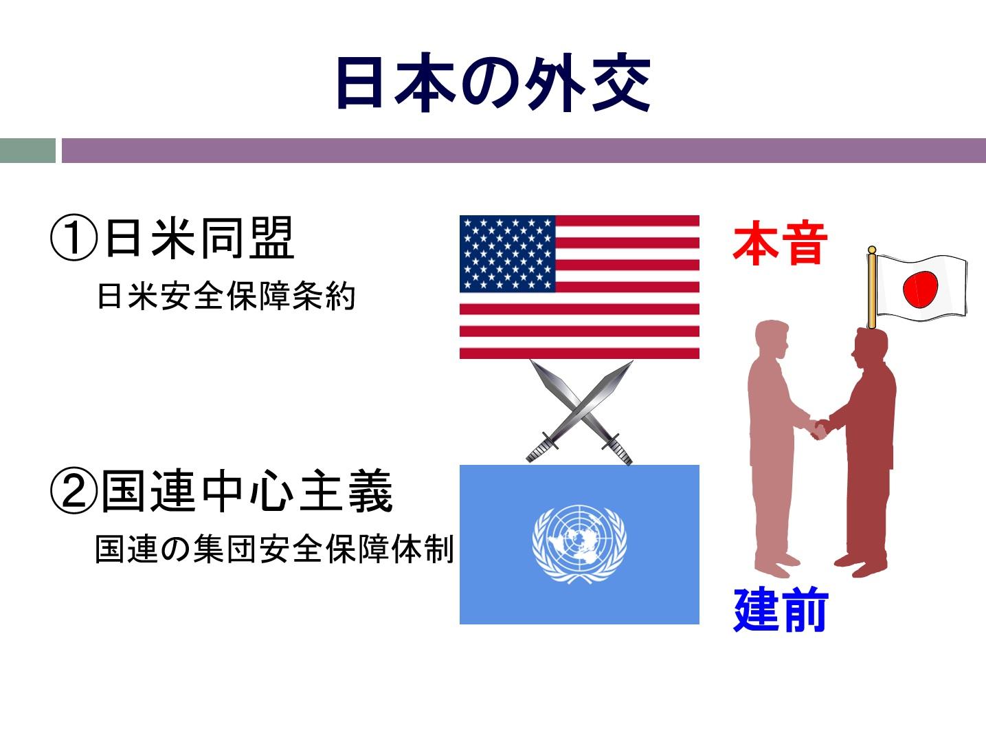 挿入画像13=国連を舞台とする米中の動向と日本