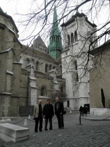 カルヴァンの拠点となったジュネーヴのサン・ピエール大聖堂(2010年に後藤徹氏と訪問)