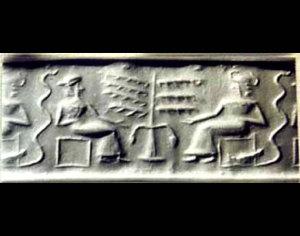 メソポタミアの円筒印章