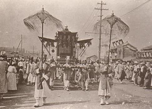「運動の引き金となった高宗の葬儀」