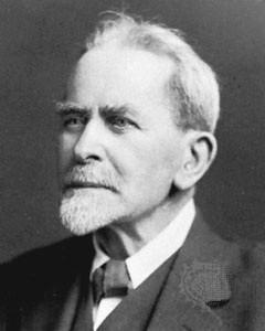 イギリスの社会人類学者ジェームズ・フレイザー(1854年~1941年)