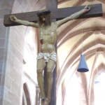 リアルな十字架像