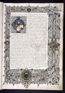アウグスチヌスの『神の国』の写本