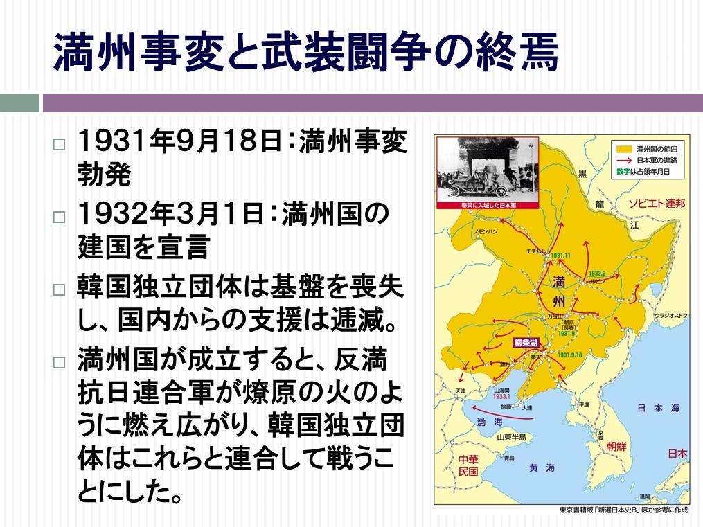 韓国の独立運動と再臨摂理PPT16-1