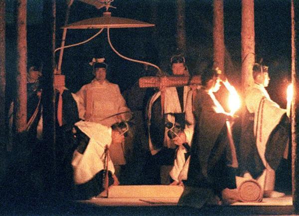 第125代天皇(上皇明仁)の大嘗祭(1990年11月22日)