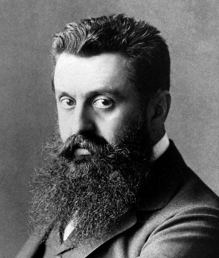 テオドール・ヘルツル(1860-1904)