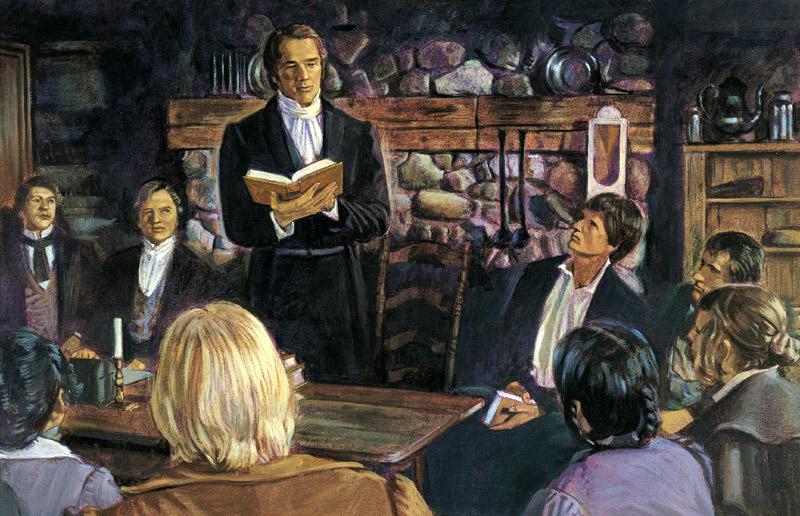 ジョセフ・スミスと初期のモルモン教徒